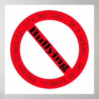 Stop Bullying-Logo Poster