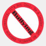 Stop Bullying-Logo Round Sticker