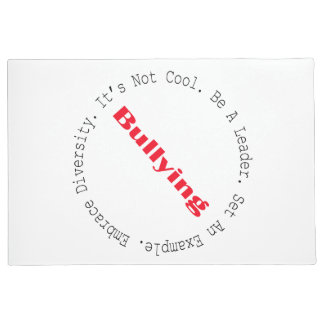 Stop Bullying-Outline by Shirley Taylor Doormat