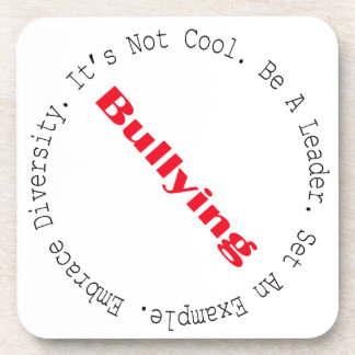 Stop Bullying-Outline Coasters
