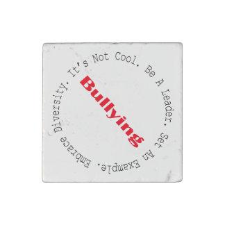 Stop Bullying-Outline Stone Magnet