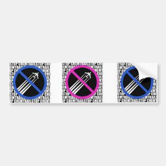 Stop Chemtrails! Bumper Sticker