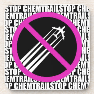 Stop Chemtrails! Drink Coasters