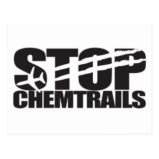 Stop Chemtrails Postcards