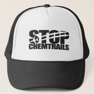 Stop Chemtrails Trucker Hat