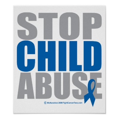 Child abuse on stop child abuse poster by fightcancertees