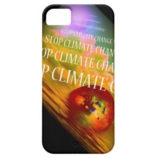 STOP CLIMATE CHANGE iPhone 5 COVERS