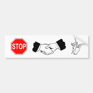 Stop... Collaborate and listen! Bumper Sticker