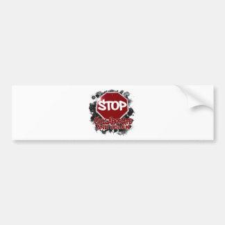 Stop! Collaborate and Listen. Bumper Sticker