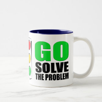Stop Complaining Two-Tone Mug