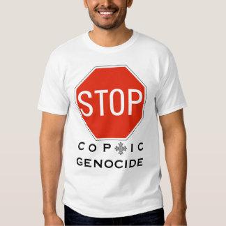 STOP COPTIC GENOCIDE T-SHIRT