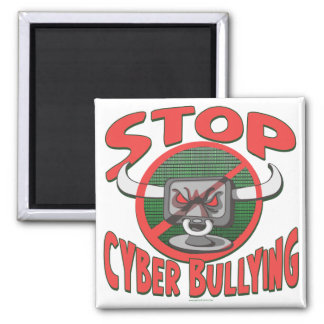 Stop Cyber-Bullying Anti Cyberbully Gear Refrigerator Magnets