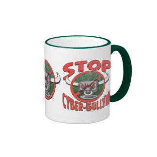Stop Cyber-Bullying Anti Cyberbully Gear Ringer Mug