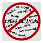 Stop Cyber Bullying Posters
