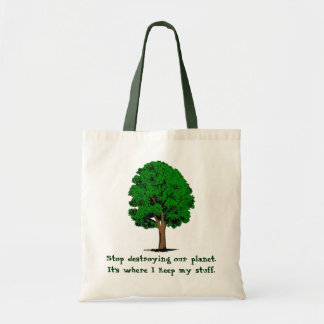 Stop Destroying... Tote Bag