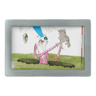 stop digging - golf, tony fernandes belt buckles