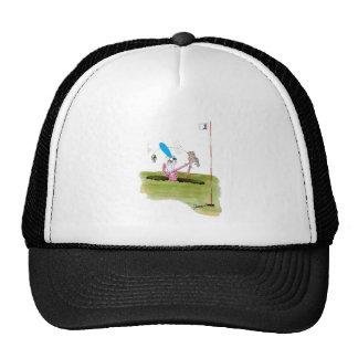 stop digging - golf, tony fernandes cap