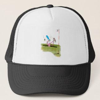 stop digging - golf, tony fernandes trucker hat
