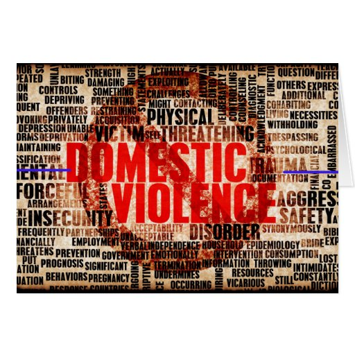 Stop Domestic Violence Greeting Cards