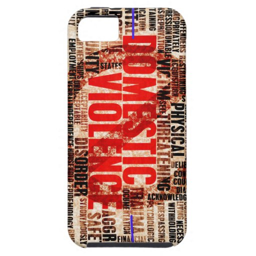 Stop Domestic Violence Cover For iPhone 5/5S