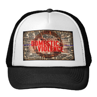 Stop Domestic Violence Trucker Hats