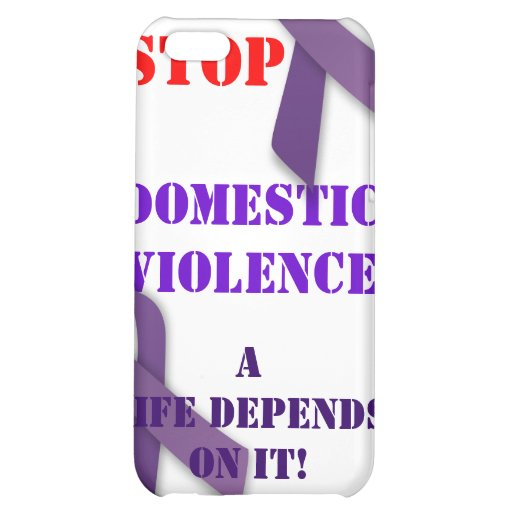 Stop Domestic Violence Iphone Case iPhone 5C Cover