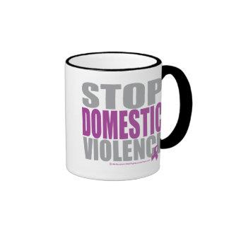 Stop Domestic Violence Coffee Mugs
