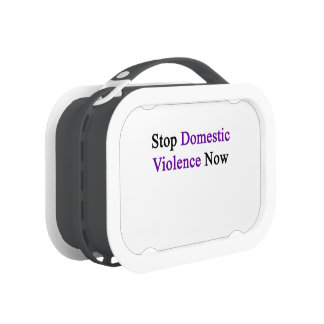 Stop Domestic Violence Now Lunch Boxes