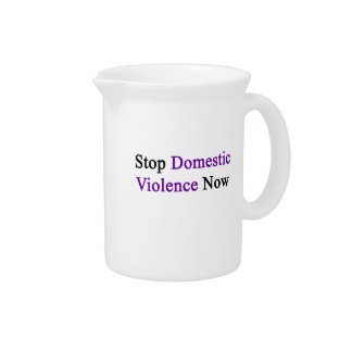 Stop Domestic Violence Now Drink Pitchers