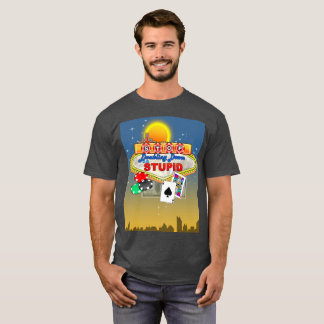 Stop Doubling Down on Stupid(dark) T-Shirt
