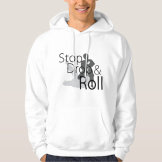 Stop Drop and Roll MMA Hoodie