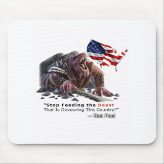 STOP Feeding the Beast Mouse Pad