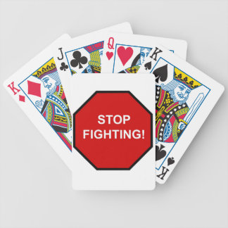 Stop Fighting Poker Cards