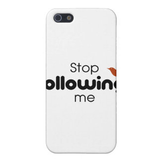 Stop Following Me iPhone 5 Case