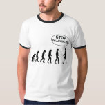 Stop following me tshirts