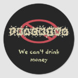 Stop Fracking Stickers