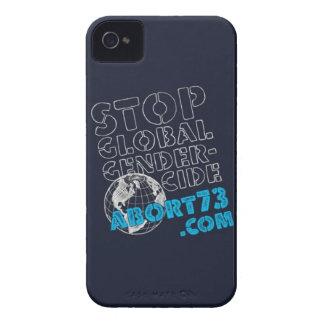 Stop Global Gendercide / Abort73.com Case-Mate iPhone 4 Cases