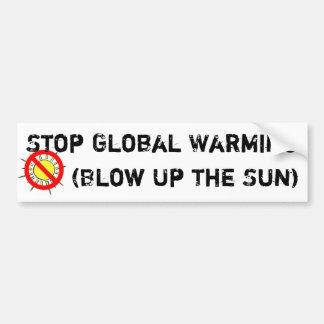 Stop Global Warming Bumper Sticker