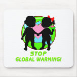 Stop Global Warming Mousepads