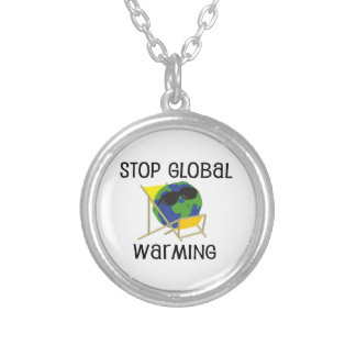 Stop Global Warming Custom Necklace