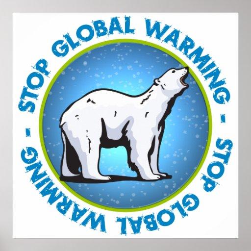 Stop Global Warming Print