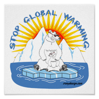 Stop Global Warming Poster