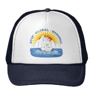 Stop Global Warming Trucker Hat