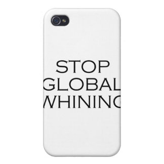 Stop Global Whining Case For iPhone 4