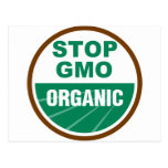 Stop GMO Organic Postcards