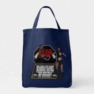 Stop - Grocery Tote