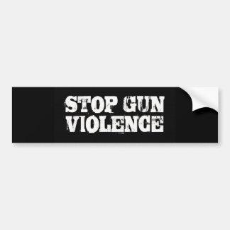 Stop Gun Violence Bumper Sticker