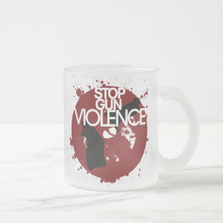 stop gun violence mugs