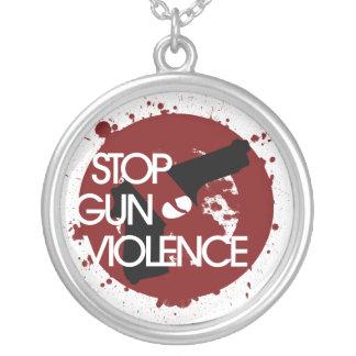 Stop Gun Violence Custom Necklace