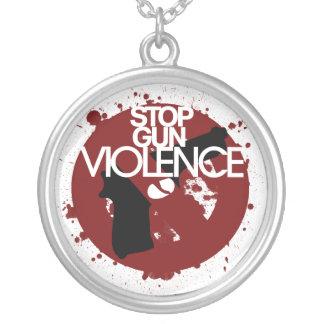 stop gun violence necklaces